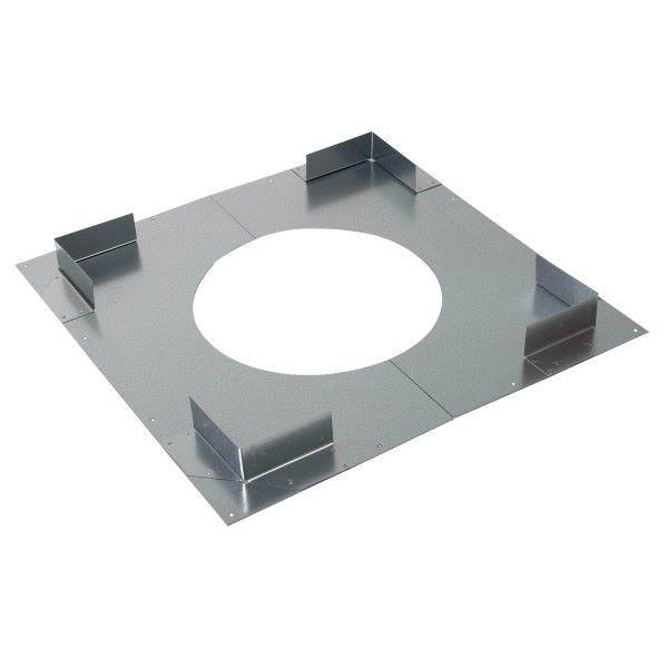 plaque distance de s curit non ventil e poujoulat pour conduit therminox zi fumisterie. Black Bedroom Furniture Sets. Home Design Ideas