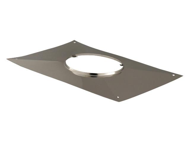 plaque d 39 tanch it rectangulaire poujoulat pour conduit tubaginox rigide fumisterie. Black Bedroom Furniture Sets. Home Design Ideas