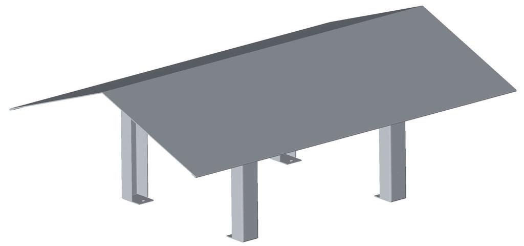 chapeau de pluie pour boisseau en v fumisterie. Black Bedroom Furniture Sets. Home Design Ideas