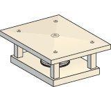 chapeau traditionnel rectangulaire poujoulat pour sortie de toit usr fumisterie. Black Bedroom Furniture Sets. Home Design Ideas