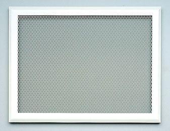 grilles horizontales de diffusion d 39 air chaud 33 x 25 sans buse avec pr cadre pour hotte de. Black Bedroom Furniture Sets. Home Design Ideas
