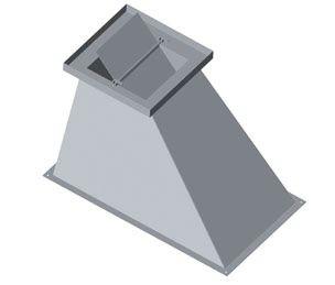 avaloir avec trappe gauche ou droite pour boisseau 30 x 30 fumisterie. Black Bedroom Furniture Sets. Home Design Ideas
