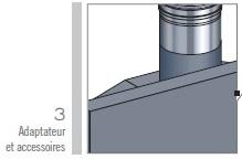 adaptateur et accessoires kitinox