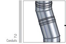 conduit / tuyaux kitinox de poujoulat